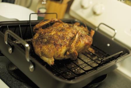 Pečená kachna na kmínu