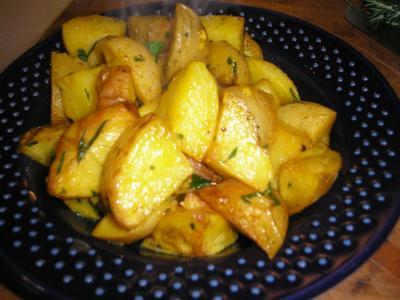Šafránové brambory